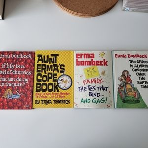 Erma Bombeck Hardcover Books  --  Set of 4